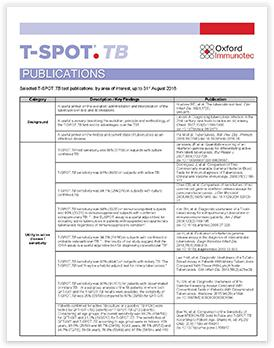 t-spot.tb 결핵 검사 브로셔